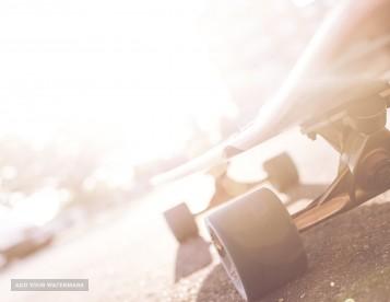 Fast skateboard