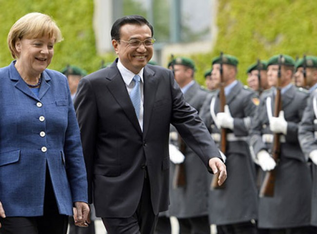 Premier Li Keqiang visits Germany