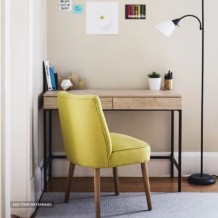 Designer yellow chair