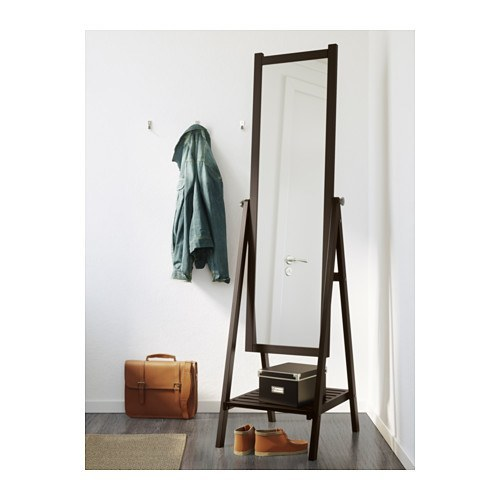 Large standing mirror