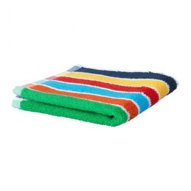 Colorful towel