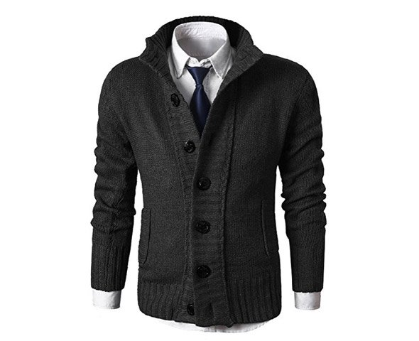 2f0dbd35ccf CANALSIDE Solid V Neck Sweater For Men Wool Cotton Knit Japan Quality