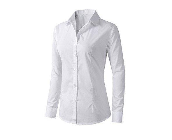 526c4993fabe94 Jug&Po Womens Casual Cuffed 3 4 Long Sleeve Plaid Button Down Shirts ...